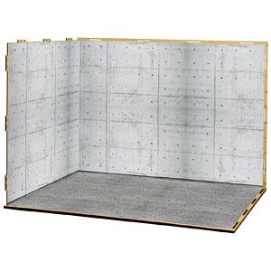 ジオラマルームLセット012「倉庫-A01」(シール貼付け済)