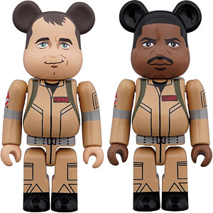 BE@RBRICK GHOSTBUSTERS 100% 2PC SET Peter Venkman/WinstonZeddemore