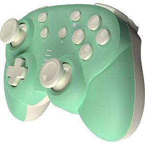 ジャイロコントローラー ミニ 無線タイプ ライトグリーン×クリーム (Switch用)