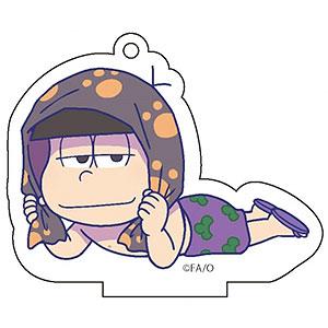 TVアニメ「おそ松さん」 ごろりんアクリルキーホルダー 水着ver. (4)一松
