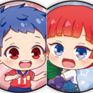 缶バッジ「KING OF PRISM -Shiny Seven Stars-」07/幼少ver. ミニキャラ 9個入りBOX