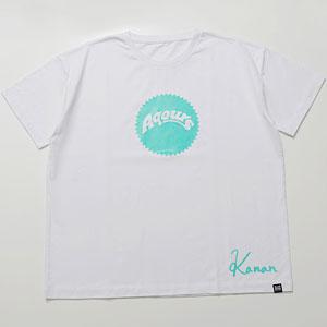 ラブライブ!サンシャイン!! Aqours Sunshine Logo TEE KANAN GRN Unisex L