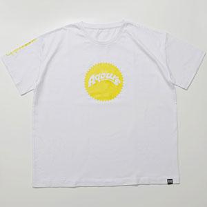 ラブライブ!サンシャイン!! Aqours Sunshine Logo TEE HANAMARU YEL Unisex L