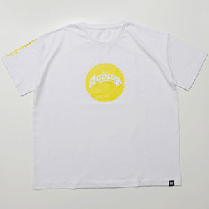 ラブライブ!サンシャイン!! Aqours Sunshine Logo TEE HANAMARU YEL Unisex XL