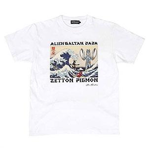 ウルトラ怪獣 浮世絵 Tシャツ(WHT)M