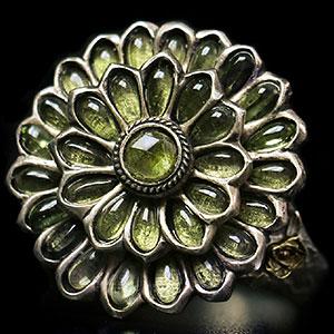 ダークソウル × TORCH TORCH/ リングコレクション: 緑花の指輪 17号