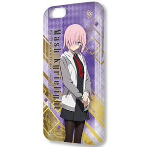 デザジャケット Fate/Grand Order -絶対魔獣戦線バビロニア- iPhone 6/6sケース&保護シート マシュ/私服Ver.