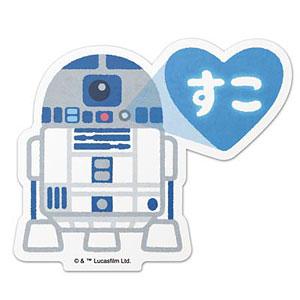 スター・ウォーズ ダイカットステッカー 10 R2-D2 illustration by みふねたかし