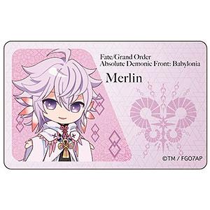 Fate/Grand Order -絶対魔獣戦線バビロニア- ICカードステッカー マーリン SD