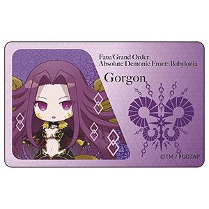 Fate/Grand Order -絶対魔獣戦線バビロニア- ICカードステッカー ゴルゴーン SD