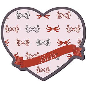 グランブルーファンタジー Valentine Gift コースター ルシフェル