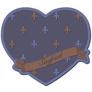 グランブルーファンタジー Valentine Gift コースター ジークフリート