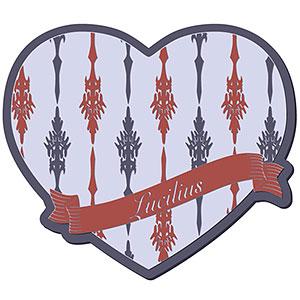 グランブルーファンタジー Valentine Gift コースター ルシファー