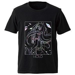 狼と香辛料 ホロのホログラムTシャツ メンズ L