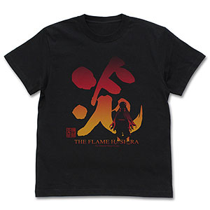 鬼滅の刃 炎柱 煉獄杏寿郎 Tシャツ/BLACK-L