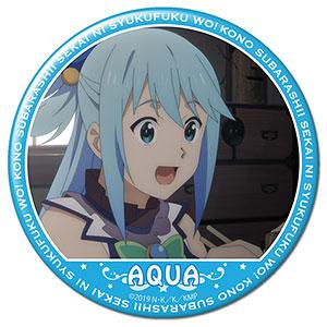 映画 この素晴らしい世界に祝福を!紅伝説 缶バッジ デザイン02(アクア/A)
