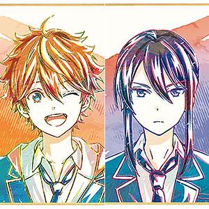 TVアニメ『あんさんぶるスターズ!』 トレーディング Ani-Art ミニ色紙 Ver.A 7個入りBOX