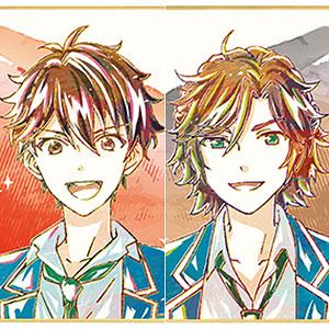 TVアニメ『あんさんぶるスターズ!』 トレーディング Ani-Art ミニ色紙 Ver.C 6個入りBOX