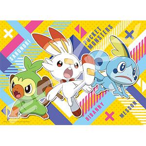 ジグソーパズル ポケットモンスター サルノリ&ヒバニー&メッソン 300ラージピース (300-L557)