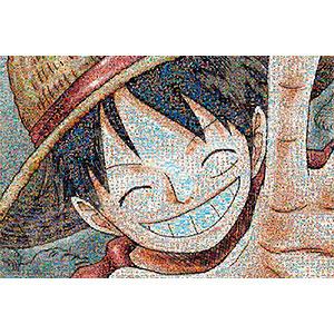 ジグソーパズル ワンピースモザイクアート ルフィ 1000ピース(1000-583)