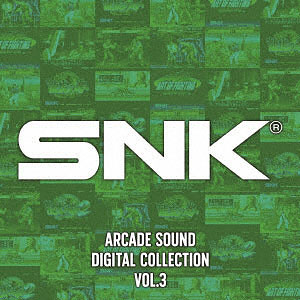 CD SNK ARCADE SOUND DIGITAL COLLECTION Vol.3