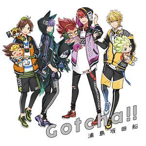 CD 浦島坂田船 / Gotcha!! 初回限定盤 (TVアニメ「デュエル・マスターズ!!」オープニングテーマ)