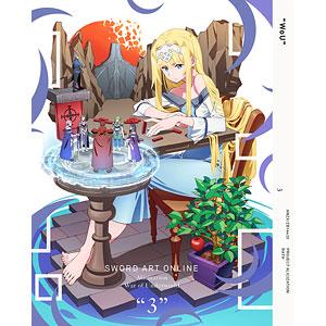 DVD ソードアート・オンライン アリシゼーション War of Underworld 3 完全生産限定版
