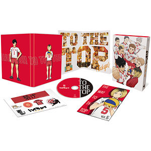 BD ハイキュー!! TO THE TOP Vol.5 Blu-ray 初回生産限定版