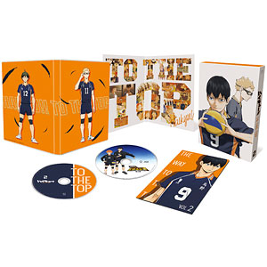 DVD ハイキュー!! TO THE TOP Vol.2 初回生産限定版