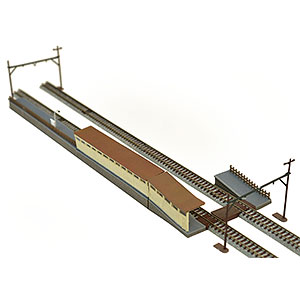 建物コレクション 020-3 駅複線化対応ホームセット3
