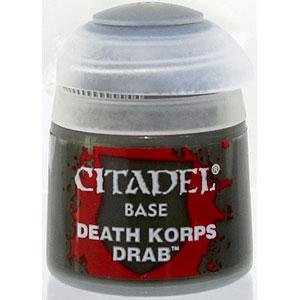 21-40 シタデルカラー BASE: DEATH KORPS DRAB (12ML)