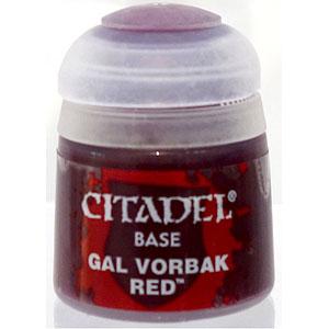 21-41 シタデルカラー BASE: GAL VORBAK RED (12ML)