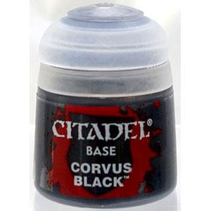 21-44 シタデルカラー BASE: CORVUS BLACK (12ML)