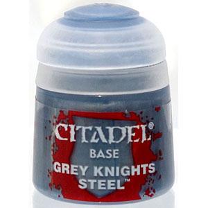 21-47 シタデルカラー BASE: GREY KNIGHTS STEEL (12ML)