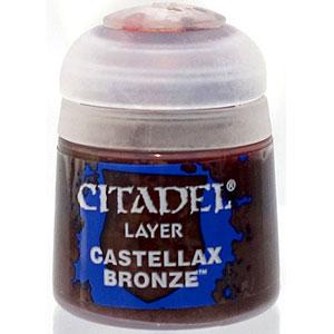 22-89 シタデルカラー LAYER: CASTELLAX BRONZE (12ML)
