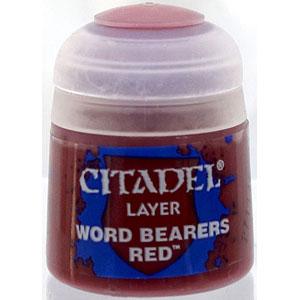 22-91 シタデルカラー LAYER: WORD BEARERS RED (12ML)