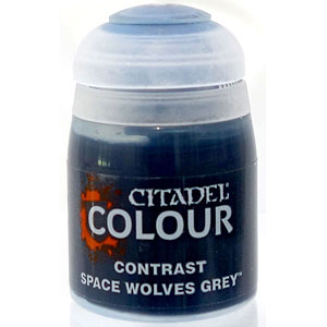 29-36 シタデルカラー CONTRAST: SPACE WOLVES GREY (18ML)