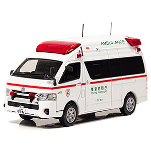 1/43 トヨタ ハイメディック 2017 東京消防庁高規格救急車