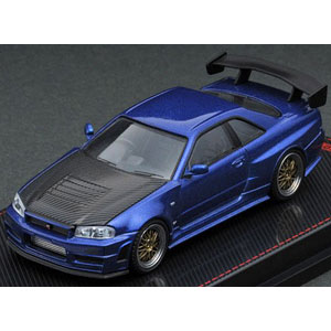 1/64 Nismo R34 GT-R Z-tune Blue Metallic
