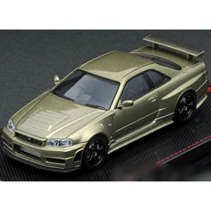 1/64 Nismo R34 GT-R Z-tune Green Metallic