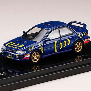 1/64 スバルインプレッサ WRX (GC8) Sti Ver.II スポーツブルー スポーツブルー / デカール