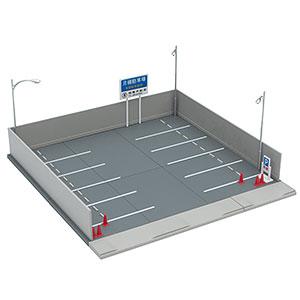 トミカラマ ヴィンテージ 03b 月極駐車場