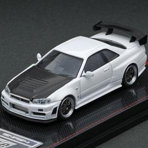 1/64 Nismo R34 GT-R Z-tune White