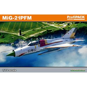 1/72 MiG-21PFM プロフィパック プラモデル