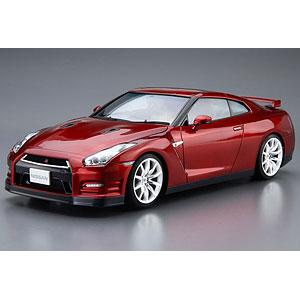 ザ・モデルカー No.3 1/24 ニッサン R35 GT-R ピュアエディション'14 プラモデル