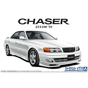 ザ・モデルカー No.16 1/24 トヨタ JZX100 チェイサーツアラーV '98 プラモデル
