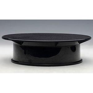 ロータリー ディスプレイ スタンド ・ スモール 直径20cm (ブラック)