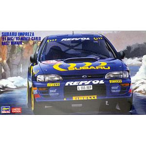 """1/24 スバル インプレッサ """"'94 RAC/'95 モンテカルロ ラリー ウィナー"""" プラモデル"""