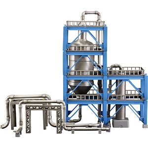工業地帯D(精製炉) プラモデル