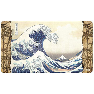 名画シリーズ3 スタンダードサイズプレイマット「神奈川沖浪裏」